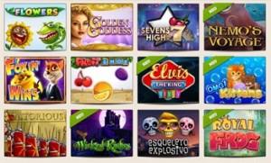 Eine mega Auswahl an Spielen - mehr als 500 Automaten sind derzeit online